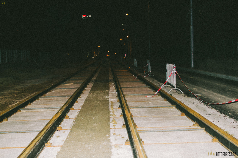 Rekonstrukce ulice Merhautova a Milady Horákové