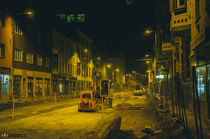 Rekonstrukce ulice Milady Horákové