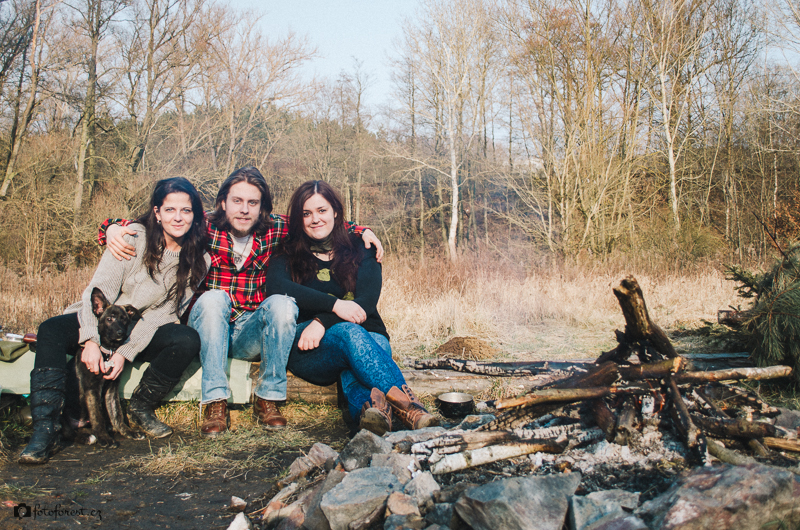 U ohně v Údolí Oddechu v Bystrci