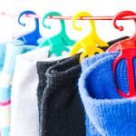 Produktová fotografie držák ponožek