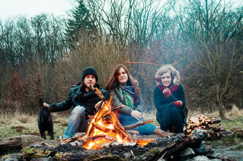 S holkama u ohně v Bystrci