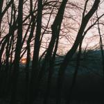 Západ slunce na Moravě