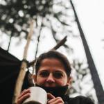 Klára s čajíkem
