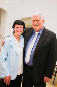 Paní Maďaričová s mistrem Maďaričem