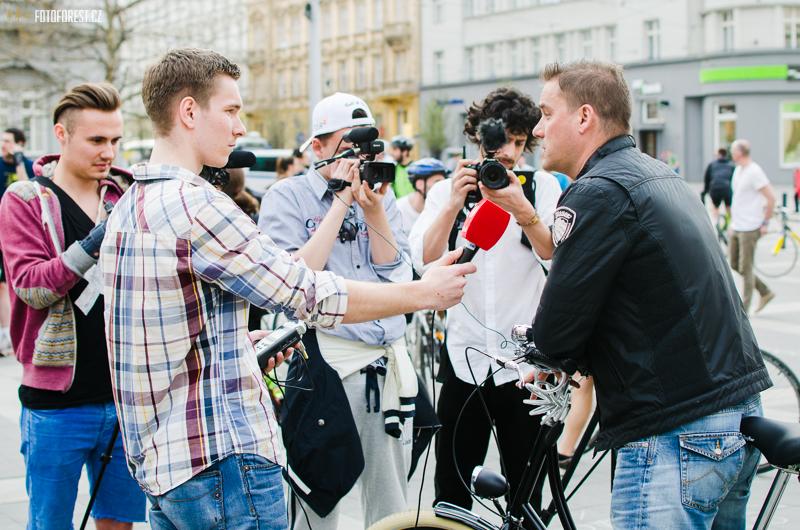 Petr Švancara na kole