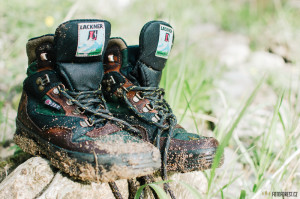 Mokré boty po brodění