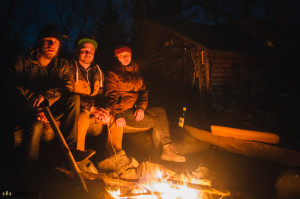 U ohně s přáteli