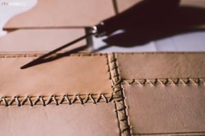 Obal na deník z kůže