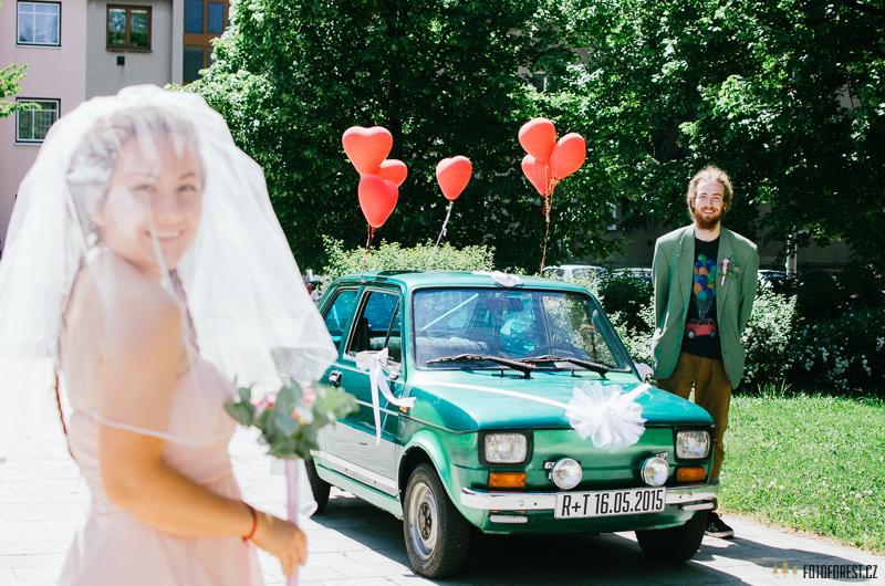 Originální svatba