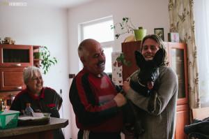 Buči rozveselil babičku i dědu