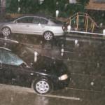 Venku prší