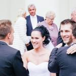 Svatba v kostele ve Slavkově na Moravě