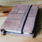 Leather cover diary
