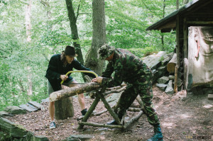 Příprava Sibiřského ohně