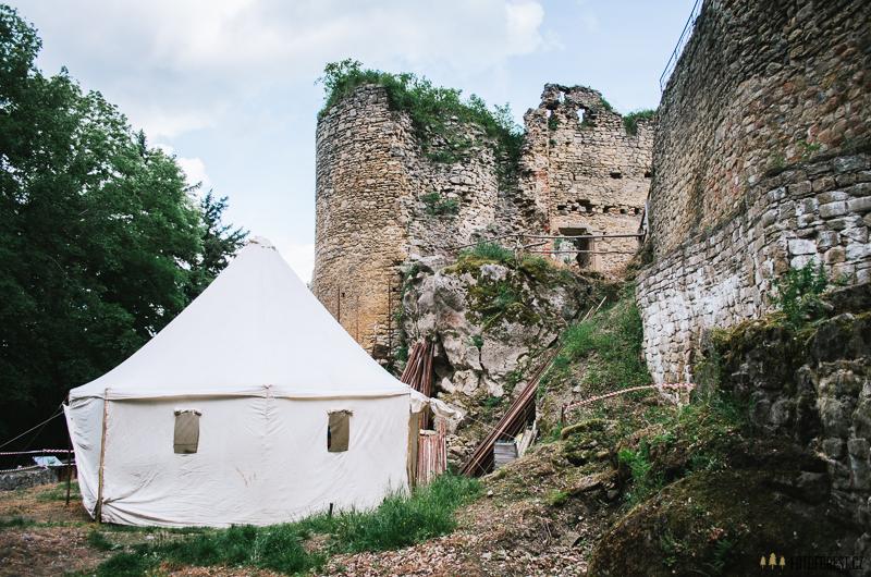 Na hradě Cimburk na Chřibech