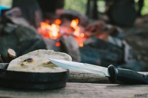 Pita, indiánská placna neboli bannock