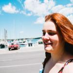 V přístavu města Pula v Chorvatsku