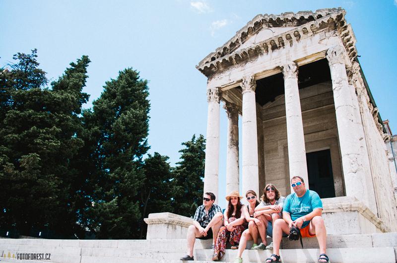 Augustův chrám, Temple of Augustus Pula