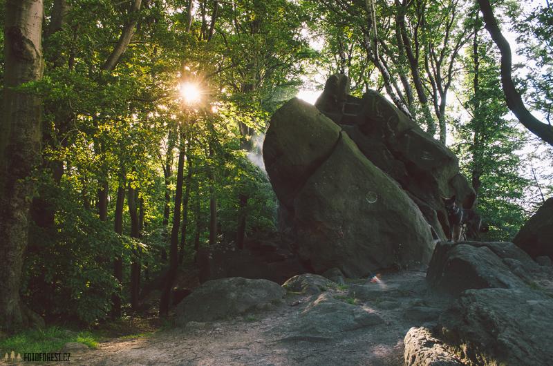 Rána v Komínskcýh skalách