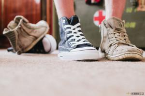 Nosím pičutky místo Converse