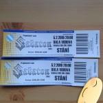 Lístky na koncert Sabaton v únoru 2016 v Brně