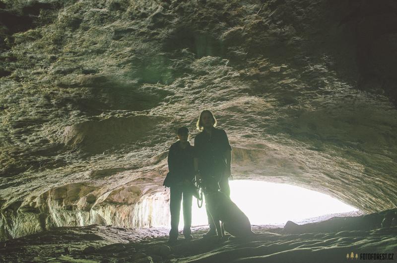 V jeskyni Pekárna