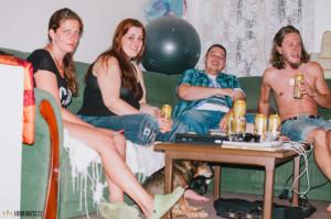 Divoká párty
