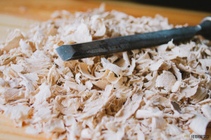 Výroba dřevěné misky kuksy