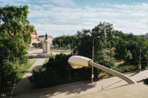 Brno, Moravské náměstí z Koliště