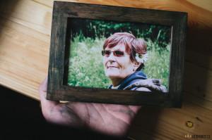 Fotka babičky v rámečku