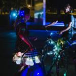 Noční jízda na kole po Brně