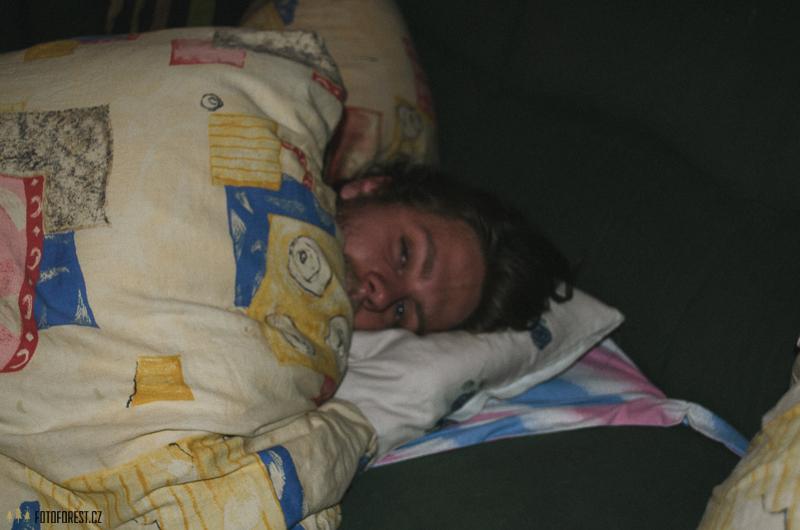 S chřipkou v posteli