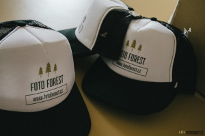 Trucker kšiltovky Foto Forest