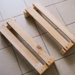 Výroba dřevěné knihovničky