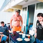 Leháro a večeře na pokoji