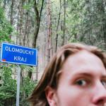 Hranice s Olomouckým krajem