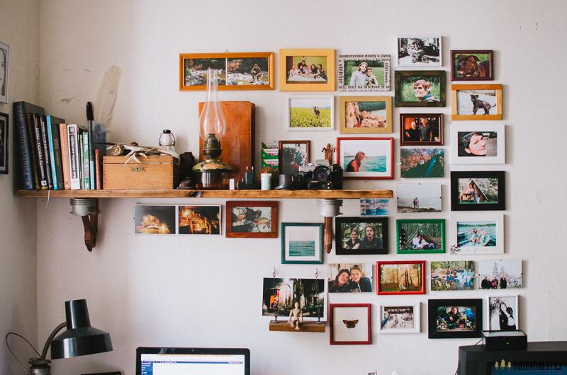 Rámování fotek