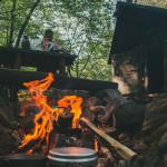 Vaříme oběd na ohni