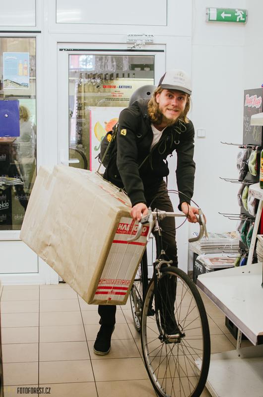 Messenger na kole