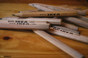 Návštěva Ikea Brno - tužky
