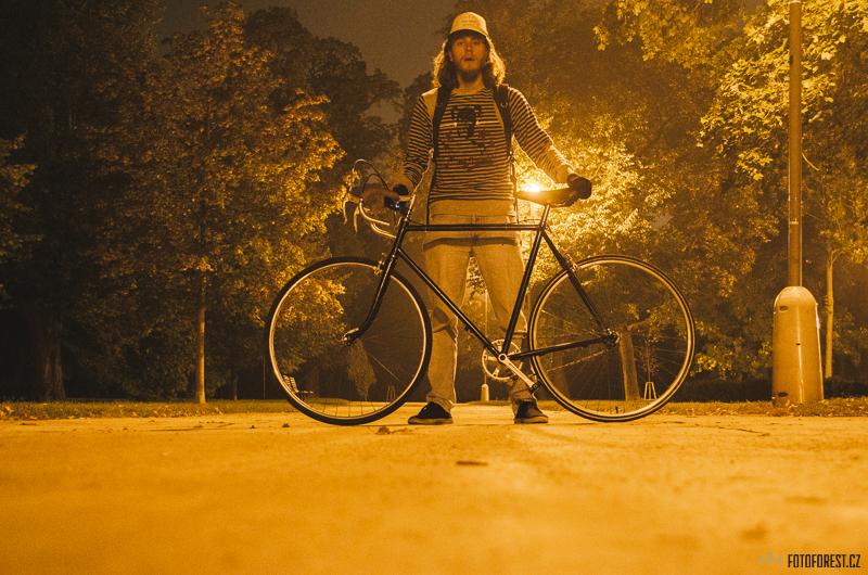 Na kole v Lužánkách