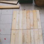 Výroba stolečku z palet