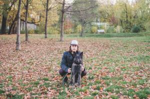 Se psem v Lužánkách