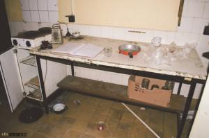 Opuštěná kuchyň urbex