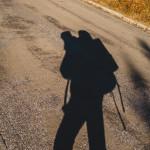 Cesta na Praděd při přechodu Jeseníků