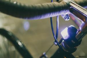 Blikačky světla na kolo