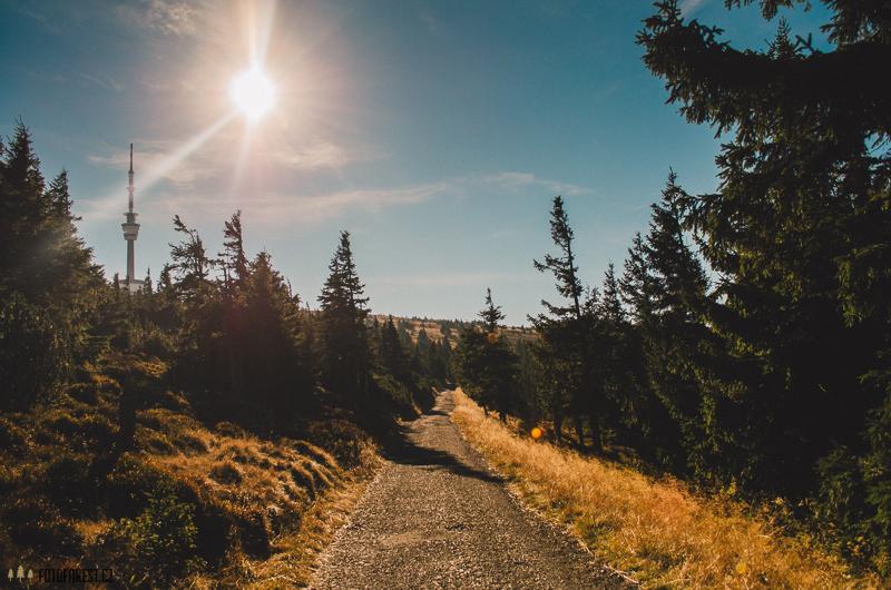 Cesta od Pradědu na Švýcárnu