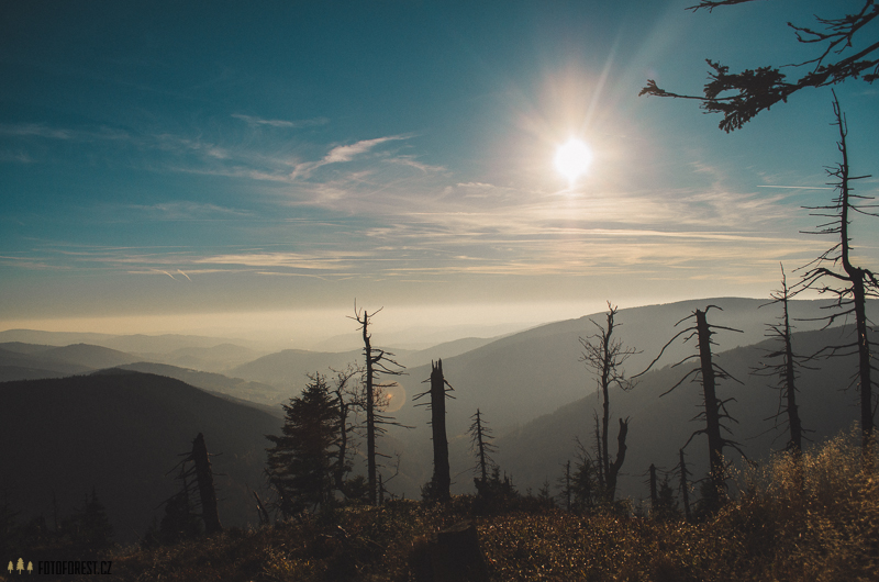 Jeseníky panoramata