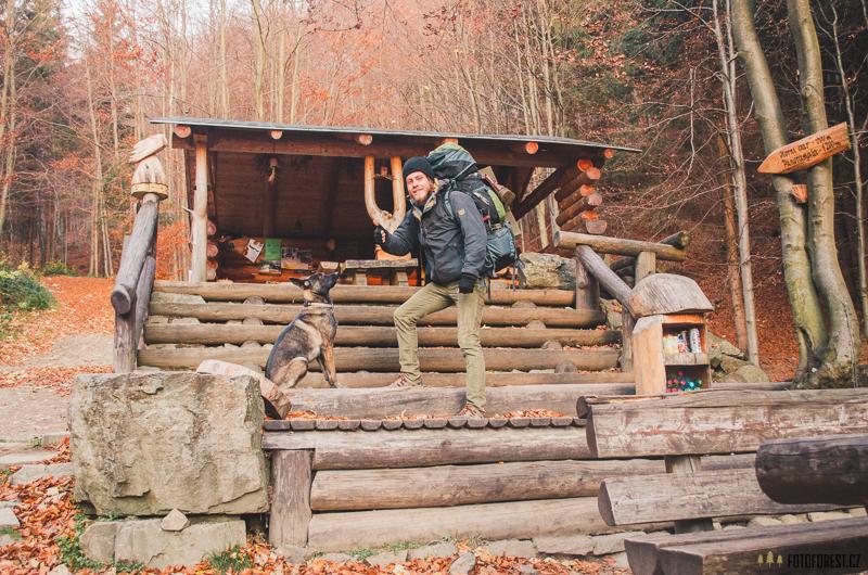 Fotka v Lesním baru v Horní Lipové v Jeseníku