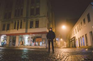 V noci v Brně